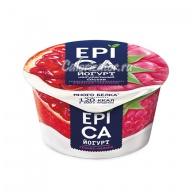 Йогурт Epica Гранат и малина