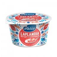Йогурт Valio Laplandia сливочный с клубникой и печеньем 7%