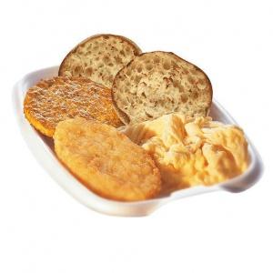 Большой завтрак McDonalds с мёдом