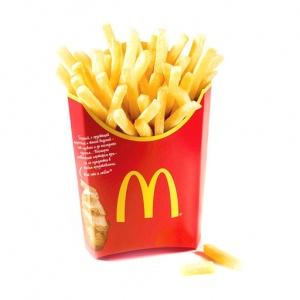 Картофель фри McDonalds (большая порция)