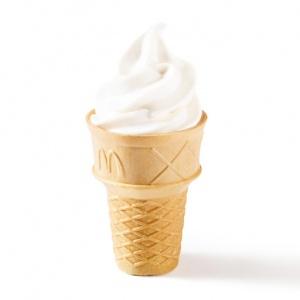 Десерт Вафельный рожок McDonalds
