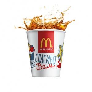 Напиток Липтон Айс-Ти Лимон McDonalds 400 мл