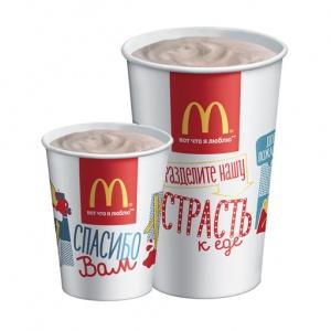 Коктейль шоколадный McDonalds 400 мл