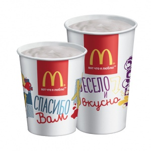 Коктейль ванильный McDonalds 400 мл