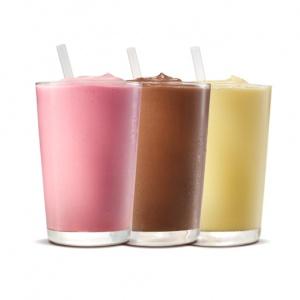 Напиток Молочный шейк (ванильный) Бургер Кинг