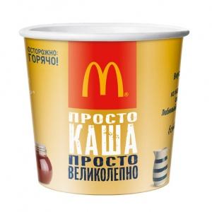 Макзавтрак Овсяная каша с мёдом