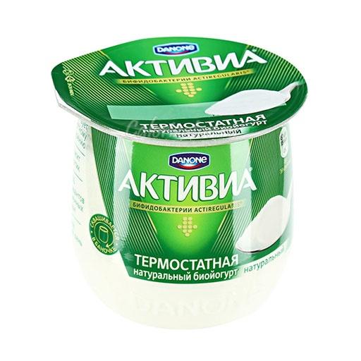 Йогурт Активиа Термостатная Натуральный
