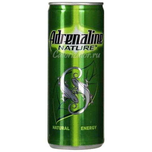 Энергетический напиток Adrenaline Nature