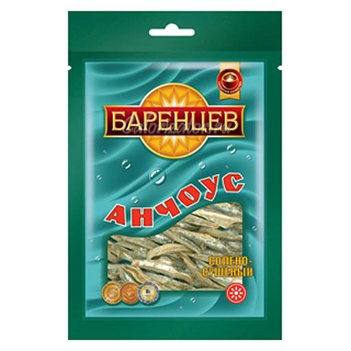 Баренцев Анчоус солёно-сушёный