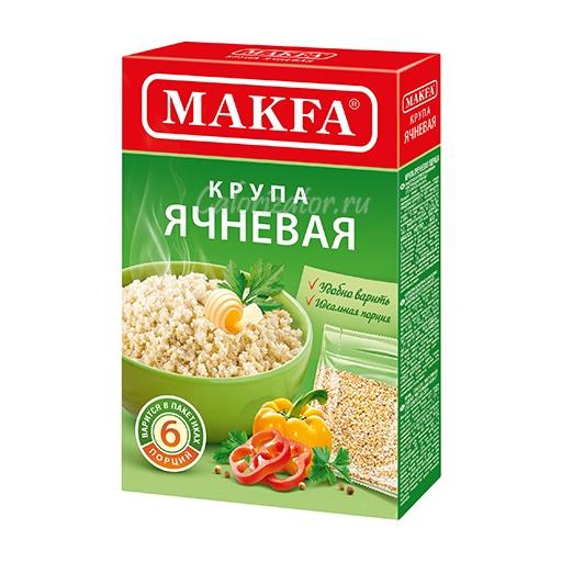 Ячневая крупа Makfa в пакетиках