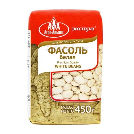 Фасоль Агро-Альянс белая
