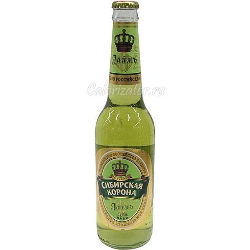 Пиво Сибирская корона Лаймъ