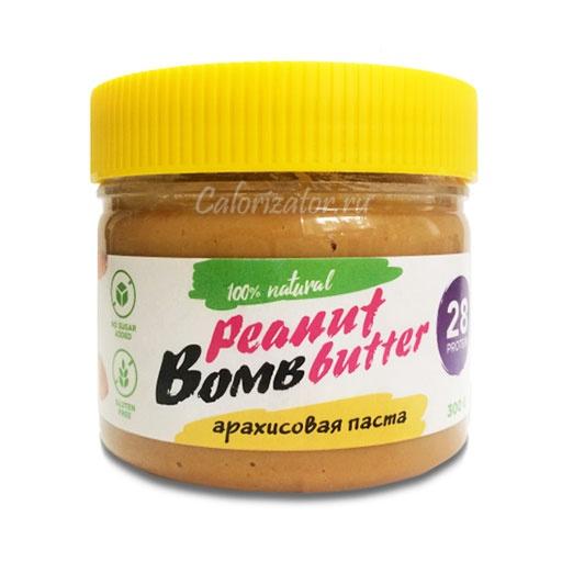 Паста арахисовая Bombbar