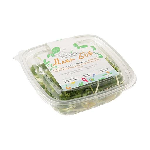 Салат из микрозелени Дабл Боб Botanica Farm