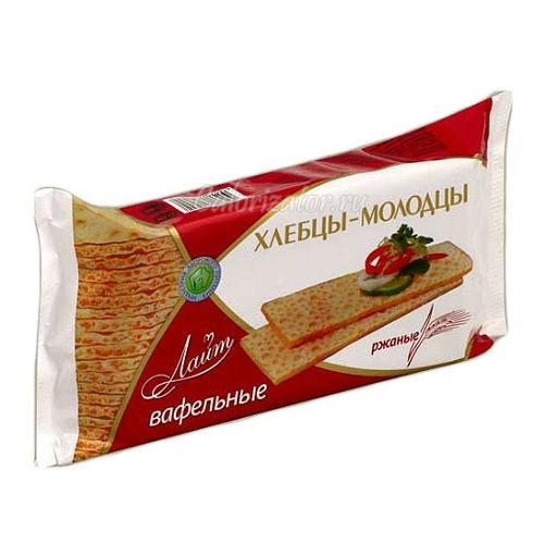 Хлебцы-Молодцы Лайт вафельные ржаные