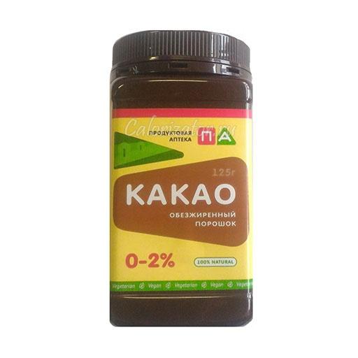 Какао-порошок обезжиренный 0-2%