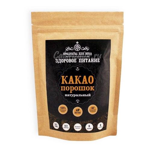 Какао-порошок алкализованный Продукты XXII века
