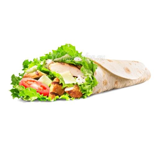 Сэндвич Цезарь Ролл Бургер Кинг