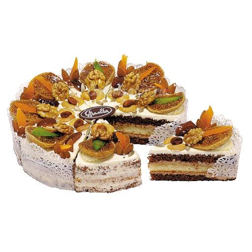 Торт Сказки Востока с инжиром и орехами