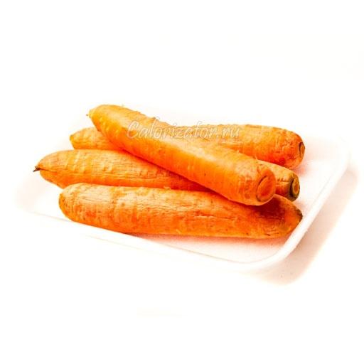 Морковь варёная