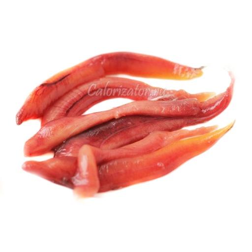 Икра сельди - калорийность, полезные свойства, польза и вред, описание.
