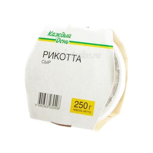 Сыр Каждый день Рикотта