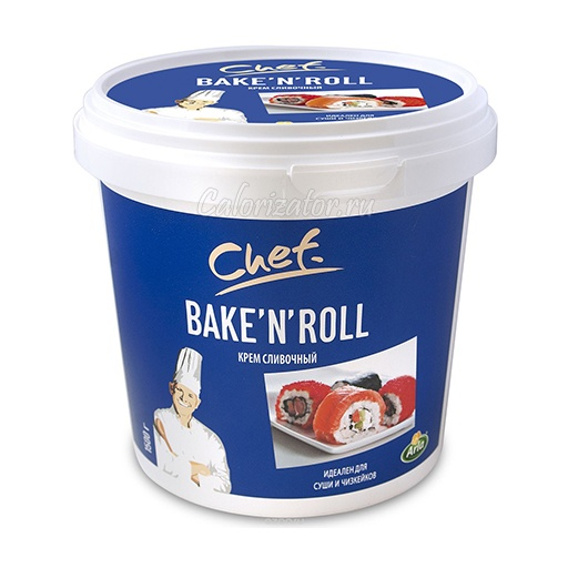 Сыр Арла Chef Bake'n'Roll крем сливочный 25%