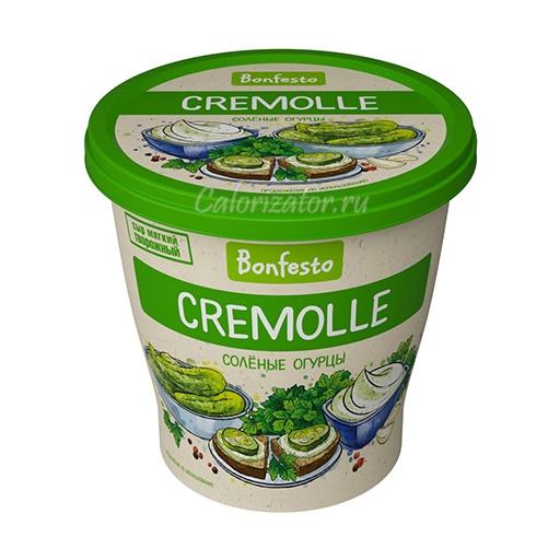 Сыр Bonfesto Cremolle солёные огурцы