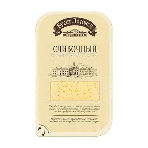 Сыр Брест-Литовск Сливочный 50%