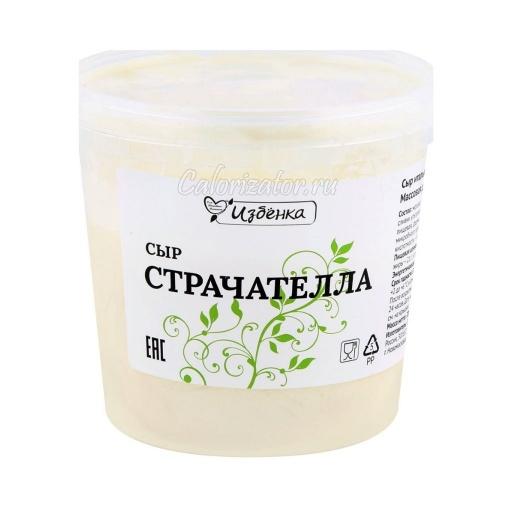 Сыр Избёнка (ВкусВилл) Страчателла итальянский мягкий 40%
