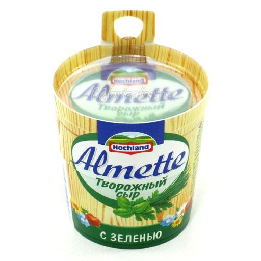 Сыр Almette с зеленью