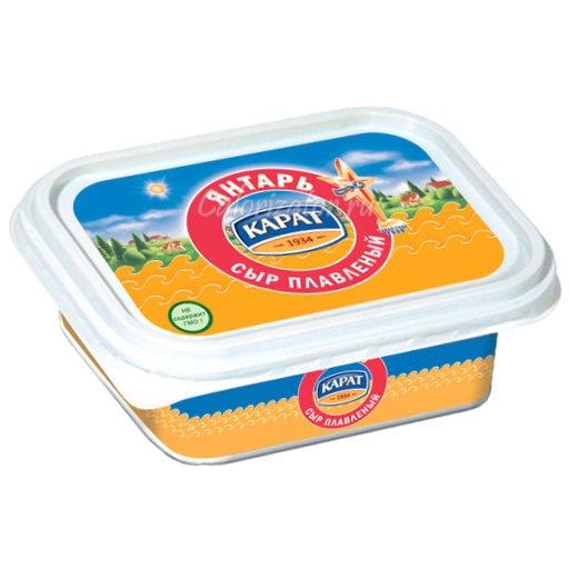 Сыр Карат Янтарь плавленый