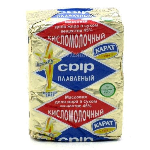 Сыр Карат кисломолочный плавленый