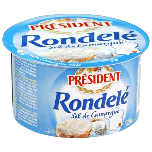Сыр President Rondele творожный