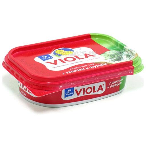 Сыр Viola с укропом и огурцом