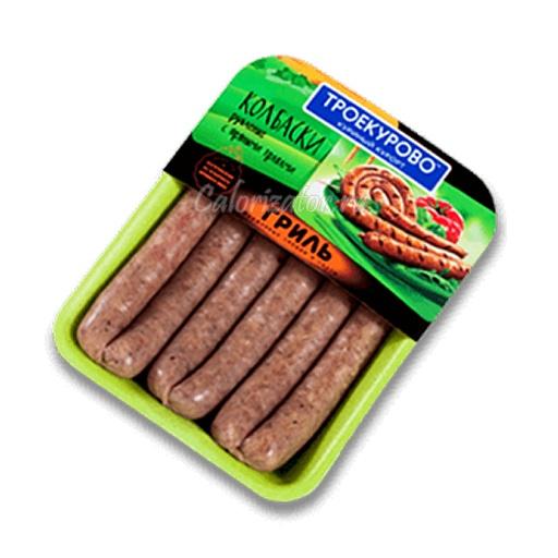 Колбаски рубленые Троекурово с пряными травами