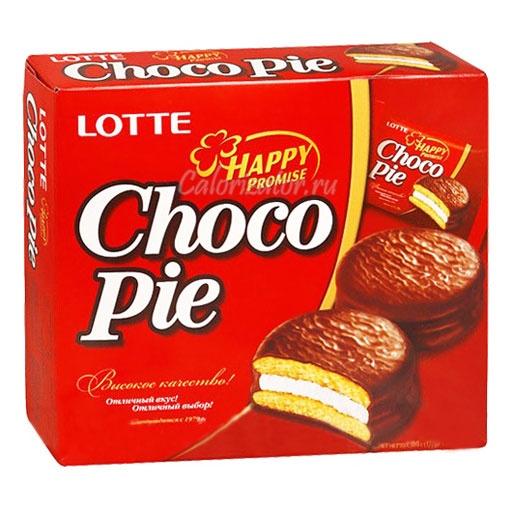Пирожное Choco Pie Lotte
