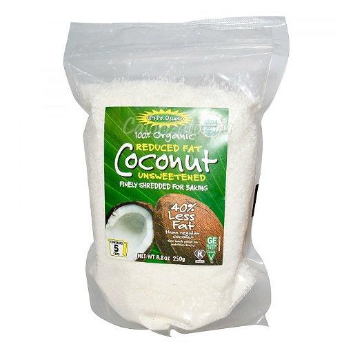 Кокосовая стружка низкой жирности