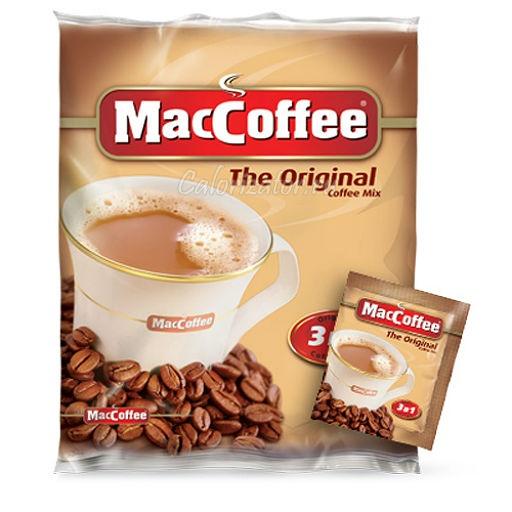 Кофейный напиток MacCoffee растворимый Оригинальный 3 в 1