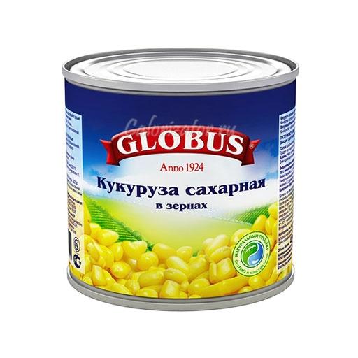 Кукуруза Globus сахарная в зернах