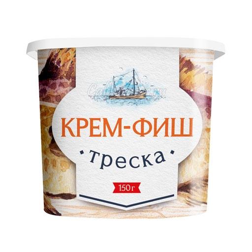 Паста Крем-Фиш Треска