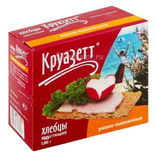 Хлебцы Круазетт ржано-пшеничные