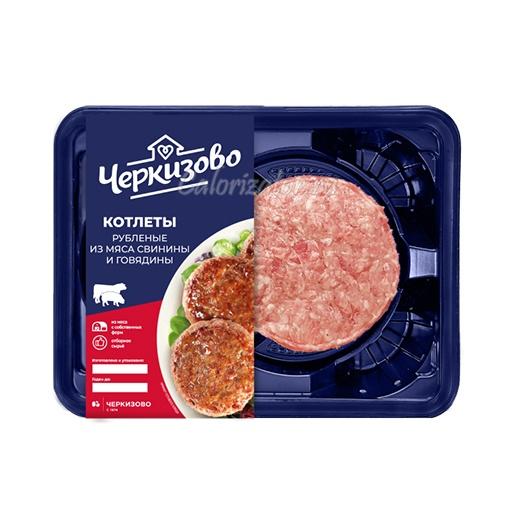 Котлеты из свинины и говядины Черкизово рубленые