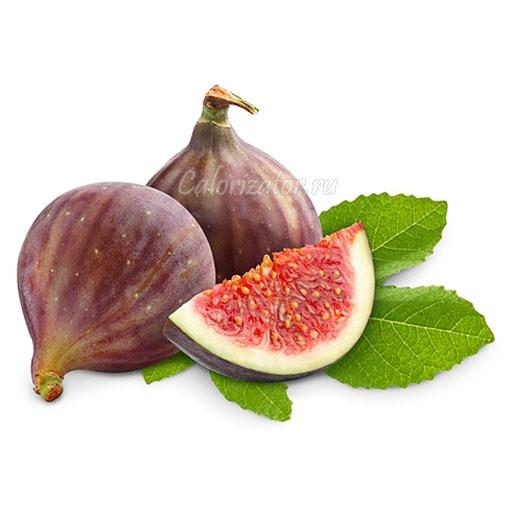 Инжир - калорийность, полезные свойства, польза и вред, описание.