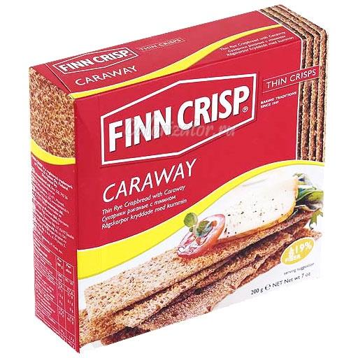 Хлебцы Finn Crisp Caraway с тмином