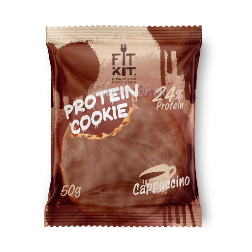 Печенье FITKIT Choco Protein Cookie Cappuccino (Капучино)