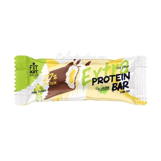 Батончик FITKIT Extra Protein Bar Pina Colada (Пина Колада)