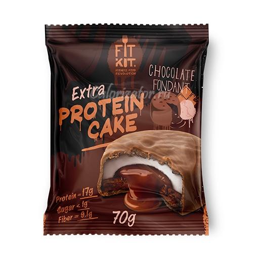 Печенье FITKIT Extra Protein Cake Chocolate Fondant (Шоколадный Фондан)