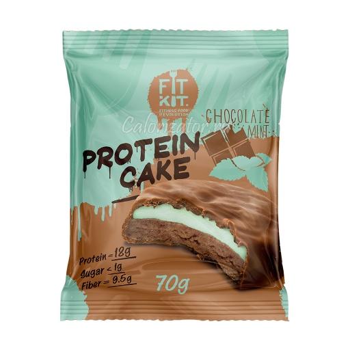 Печенье FITKIT Protein Cake Chocolate Mint (Шоколад-Мята)