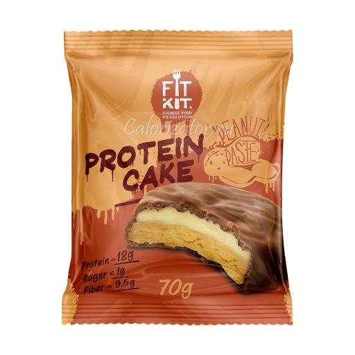 Печенье FITKIT Protein Cake Peanut Paste (Арахисовая Паста)